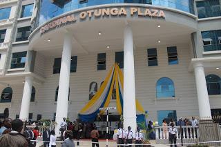KENYA: Cardinal Otunga Plaza Blessed and Officially Opened