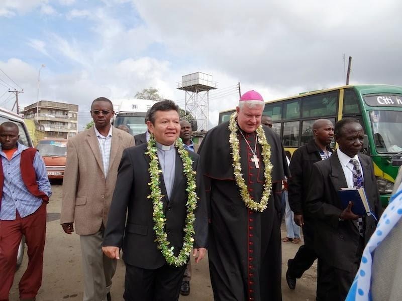 KENYA: Apostolic Nuncio Joins Residents of Kibera Slum to Mark the End of the Year of Faith