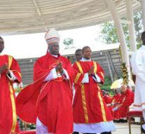 UGANDA: Millions of pilgrims gather at Namugongo to celebrate 2016 Uganda Martyrs day