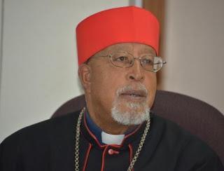 H.E. Cardinal Berhaneyesus, Chairman of AMECEA and  Metropolitan Archbishop of Addis Ababa Ethiopia