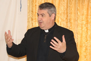 Fr. Andrew Small fro Pontifical Mission Society USA
