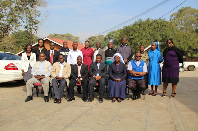 Group Photo of the Training Participants Comprising of Diocesan Child Protection Coordinators (DCPC) and Catholic Secretariat Child Protection Focal persons