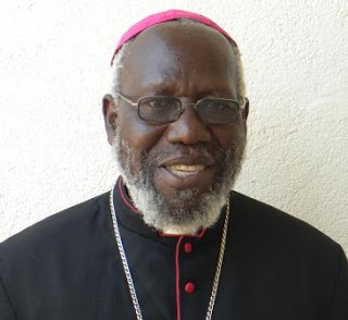 Rt. Rev. Taban Paride, Bishop Emeritus of Torit,  Recently recognized by Archbishop of Canterbury  for his exceptional work on promoting  Peace in South Sudan