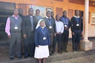Participants of AMECEA ICT Workshop held in Zambia