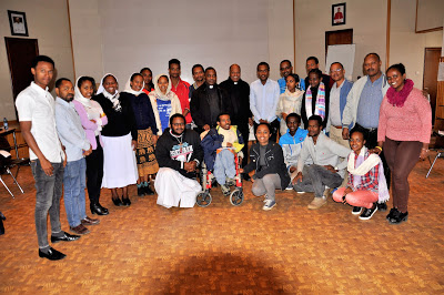 Pparticipant of the AMECEA Pastoral Department Preparation Workshop for the Synod of Bishops on Youth at the Catholic Secretariat in Addis Ababa Ethiopia