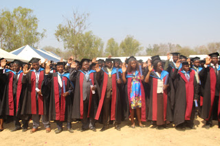 A section of the graduating students of CUNIMA