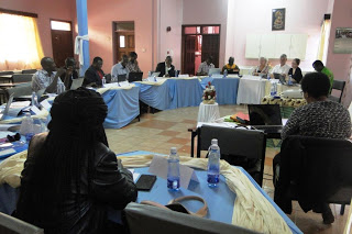 A section of the workshop participants during the sessions