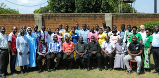Group Photo of the participants of the National Council for the  Catholic Youth Annual General Meeting in Lusaka