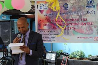 JRS Ethiopia Country Director Mr. Mulugeta Woldeeyesus
