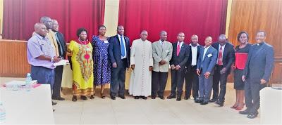 Members of the New Executive Board of Uganda National Catholic Council of Lay Apostolate (UNCCLA)