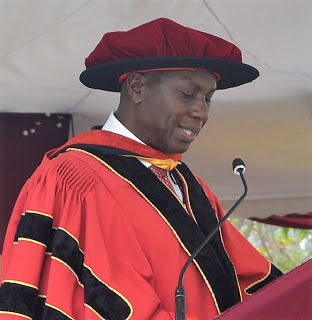 Prof. Justus Mbae, Vice Chancellor Catholic University  of Eastern Africa (CUEA)