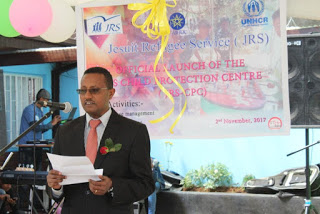 Representative of Administration for Refugees and Returnees (ARRA) Mr. Fiseha Meseret