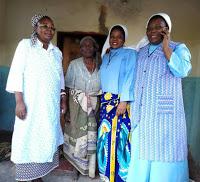 Sr. Matildah Mubanga (left)  ZCCB National Health Coordinator
