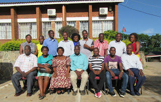 Catholic Development Commission Diocesan Officers During their ICT Training in Lolongwe