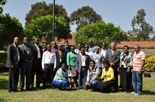 Group Photo of Participants of Caritas Internationalis  Management Standards Review Meeting in Nairobi