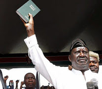 KENYA: Media shut down over Odinga's Oath Event
